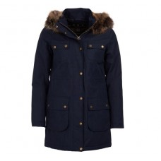 Barbour Jacket Collingwood Waterproof Breathable Ladies Navy Hooded Coat