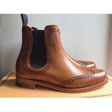 Barker Sabrina Chelsea Boot Style Cedar Calf Womens Boot (4.5)