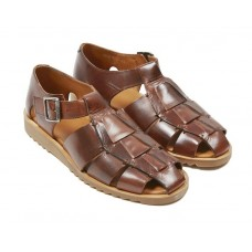 Paraboot Pacific Men's Leather Marron Sandals