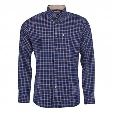 Barbour Shirt Bank Navy Check