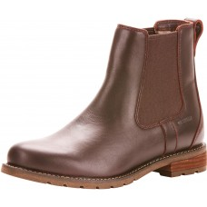 Ariat Wexford H20 Cordovan Brown Ladies Chelsea Boots