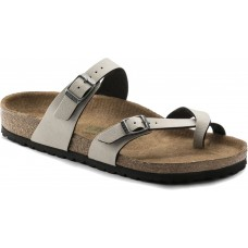 Birkenstock Mayari Ladies Pull Up Stone Birko Flor Sandals