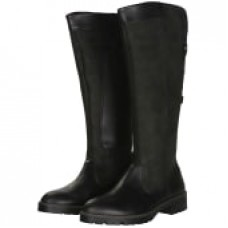 Barbour Rebecca Ladies Calf Long Zip Black Leather Boots