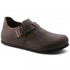 Birkenstock London BS Mens Oiled Leather Habana Brown
