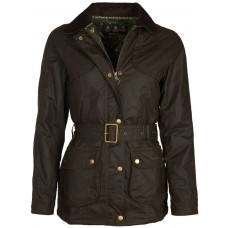 Barbour Jacket Ambleside Ladies Wax Olive