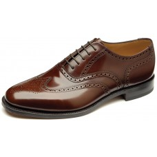 Loake Full Brogue Oxford Style 202 Mens Brown Shoes (11)