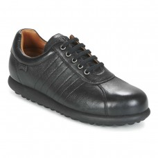 Camper Pelotas Black Trainer Mens Leather Shoes (10)