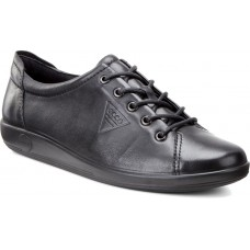 ECCO Soft 201 Black Womens Sneakers Trainers