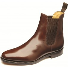 Loake 290T Chelsea Boot Style Mens Brown Shoes (07)