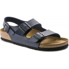 Birkenstock Milano Blue Birko Flor Ladies Sandals
