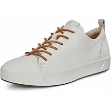 ECCO Soft White Womens Sneakers Trainers