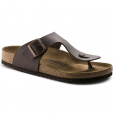 Birkenstock Ramses Dark Brown Birko Flor Mens Sandals