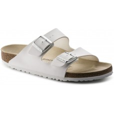 Birkenstock Arizona White Birko Flor Ladies Sandals Narrow
