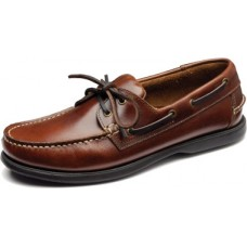 Loake Boat Shoes Brown Leather 524 (12)