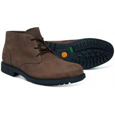 Timberland Stormbuck Chukka Boot Style Dark Brown Mens Nubuck Leather Shoes
