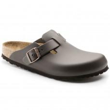 Birkenstock Boston BS Mens Shoe Dark Brown