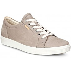 ECCO Soft 7 Warm Grey Womens Sneaker Trainers