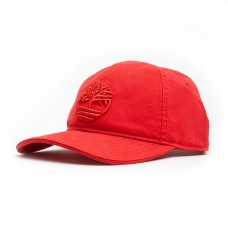 Timberland Adjustible Baseball Cap Mens Red