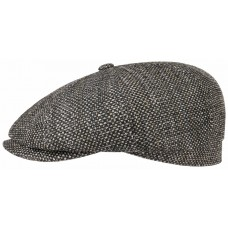 Stetson Hatteras Toyo Grey Straw Cap (100% Viscose)