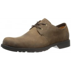 Timberland Mens EK City Lite Dark Brown Nubuck Leather Shoes (08)