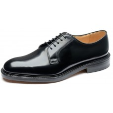 Loake Derby Style 771B Black Leather Mens Shoes (08)