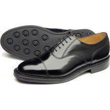 Loake Derby Toe Cap 805 Black Mens Shoes (09)