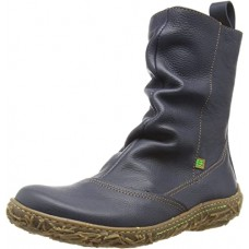 El Naturalista Nido Soft Grain Womens Boot - Black