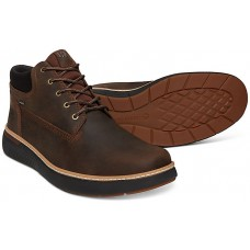 Timberland Cross Mark GTX Gore-Tex Chukka Dark Brown Leather Mens Boots