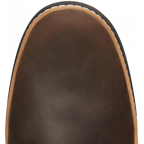 atómico surco vía  Timberland Cross Mark GTX Gore-Tex Chukka Dark Brown Leather Mens Boots