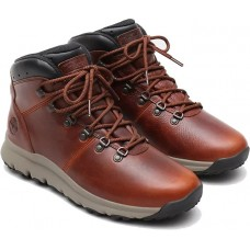 Timberland World Hiker Hiking Boot Style Medium Brown Mens Leather Shoes