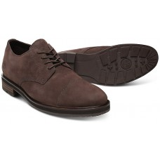 "Timberland Windbucks Derby Style Toe Cap ""Oxford"" Dark Brown Leather Mens Shoes"