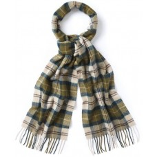 Barbour Scarf Tartan Lambswool Ancient
