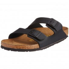 Birkenstock Arizona Black Birko Flor Mens Sandals