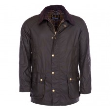 Barbour Jacket Waxed Ashby Olive Mens