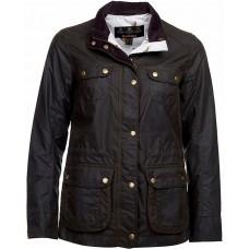 Barbour Broom Olive Ladies Waxed Jacket