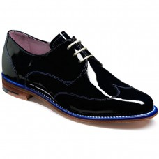 Barker Charlie Navy Patent Ladies Shoes