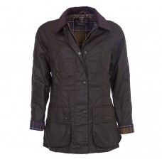 Barbour Jacket Waxed Classic Beadnell Ladies Olive