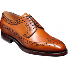 Barker Calvay Cedar Grain Mens Shoes (06½)