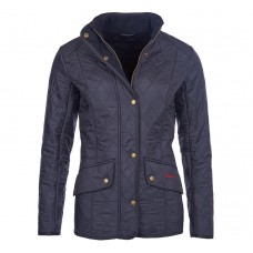 Barbour Jacket Cavalry Polarquilt Ladies Navy