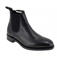 Loake Chatterley Chelsea Boot Style Black Leather Womens Boots
