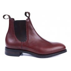 Loake Chatterley Chelsea Boot Style Brown Leather Womens Boots
