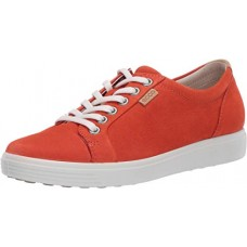 ECCO Soft 7W Fire Red Womens Sneakers Trainers