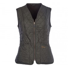Barbour Gilet Fleece Betty Liner Dark Olive