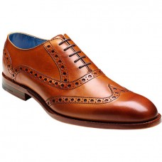 Barker Grant Cedar Calf Leather Brogues (Size 10)