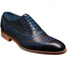 Barker Grant – Navy / Classic Blue Calf Shoes