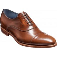 Barker Oxford Style Hartley Cedar Hi-Shine Mens Leather Shoes (09½)