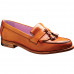 Barker Heather Ladies Cedar Calf Brown Leather Loafters