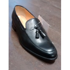 Barker Mens Black Tassel Loafer (10)