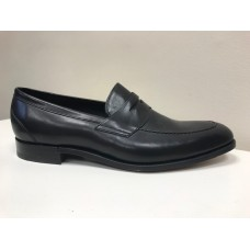 Barker Loafer Style St Pauls Mens Black Calf Leather Shoes (12)