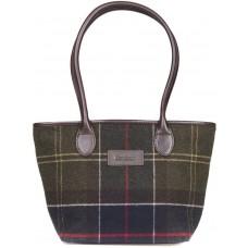 Barbour Bag Dee Ladies Green Classic Tartan Handbag